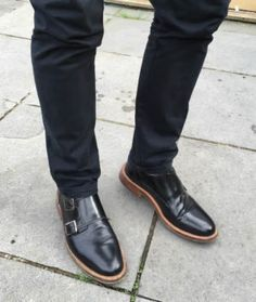Modern Double Monk Shoe - Prince From LSQ Shoes
