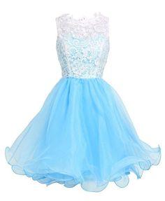 Babyonline Purple Short Homecoming Dress 2015 Cute Prom Dress For Junior