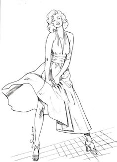 coloring pages marilyn monroe Cutare Google Tfactory