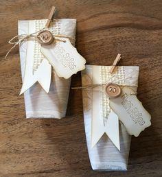 """Gastgeschenke - Kleine Geschenktüten """"Bags"""" - ein Designerstück von The-creative-things bei DaWanda Creative, Party, Gift Wrapping, Etsy, Gifts, Favors, Basteln, Paper Wrapping, Wrapping Gifts"""