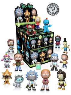 Funko Has Dropped A Ridiculous Amount Of 'Rick And Morty' Toys