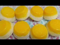 SOFT PUTO FLAN/ PUTO DE LECHE - YouTube Ube Recipes, Baking Recipes, Filipino Desserts, Filipino Recipes, Putong Bigas Recipe, Dessert Dishes, Dessert Recipes, Lechon, Pinoy Food
