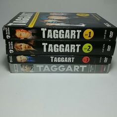 Pick One or More DVD Box Set: Taggart DVD Set in Original Box and Cases