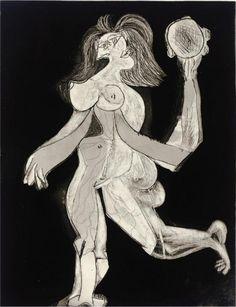 Picasso, Buste de Femme d'aprs Cranach le Jeune, from 1958