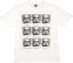 Emotions Storm Trooper Shirt