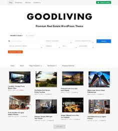 GoodLiving Wordpress Theme
