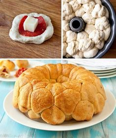 42 Mouthwatering Pull-Apart Recipes | Pepperoni Pizza Monkey Bread