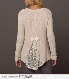 Sehe dir das Foto von Steffie mit dem Titel So kann man zu kleine Pullover un T-Shirts größer machen und schicker.  und andere inspirierende Bilder auf Spaaz.de an.