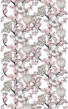 Glamour Fabric – Vallila Online Store Summer Sale, Glamour, Quilts, Elegant, Stylish, Fabric, Pattern, Pink, Colour