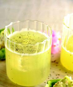 ¿Por qué quedarse con la tradicional agua de limón con chía si puedes experimentar y probear un agua de cítricos y chía?