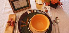 Thanksgiving Dinner Table Setting by Goodwill Home Decor Expert, Merri Cvetan
