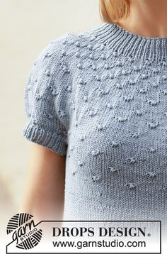 Ravelry: Enchanted Evening pattern by DROPS design Sweater Knitting Patterns, Cardigan Pattern, Knitting Stitches, Knit Patterns, Free Knitting, Drops Patterns, Drops Design, Summer Knitting, Crochet Diagram