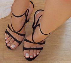 sandals with heels Sexy High Heels, Beautiful High Heels, Beautiful Toes, Pretty Toes, Platform High Heels, Ladies High Heel Shoes, Stilettos, Talons Sexy, Women's Feet