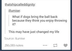This is definitely fake because my dog brings the ball back but won't let me have it