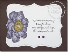 VIDEO: Stampin Up Blendabilities featuring Bloom with Hope stamp set