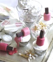 Cute Cute!!  Vanity Table Cupcakes!  Yes you can eat them!!