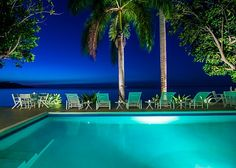 SERENITY ON THE BEACH is a four-bedroom fully-staffed private villa ... #peaceful #beach