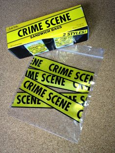 Back to School Crime Scene Sandwich Bags Police Retirement Party, Police Party, Criminal Justice Graduation, Detective Theme, Gag Gifts For Men, Mystery Dinner, Forensics, Mobsters, Sandwich Bags