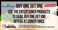Use The Entertainer products to avail buy one get one offers at Doner Force. Download GL Deals app now to get further access to more of your cards' offers for free. http://www.gldeals.com/myapp #instalike #tagsforlikes #dubai #happy #uae #offers #app #appstore #iosapp #googleplay #android #ios #gldeals #deals #discounts #cards #theentertainer #donerforce #turkish #german