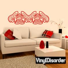 Celtic Wall Decal - Vinyl Decal - Car Decal - DC 8338