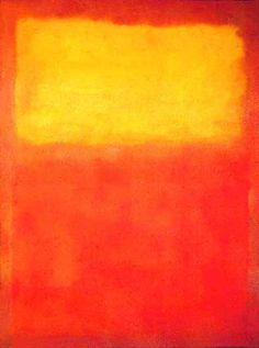 Rothko - Orange And Yellow