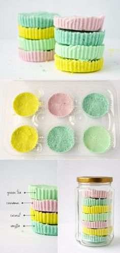 Bath bombs - do it yourself stuff