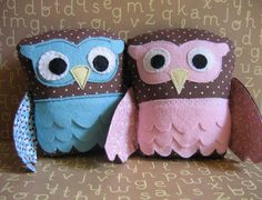 every baby girl needs an owl rattle.  heck, every baby boy does, too!