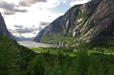 LYSEBOTN - Lysefjord, Forsand, Rogaland, Norway