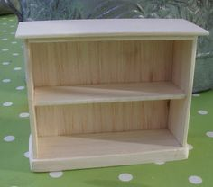 PuNo's Minis 1:12 - how to make a bookcase