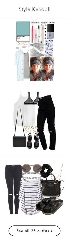 """""""Style Kendall"""" by sarahm-landonc ❤ liked on Polyvore featuring Markus Lupfer, Topshop, Minor Obsessions, Boutique, Converse, H&M, NARS Cosmetics, ASOS, TIBI and Alexander Wang"""