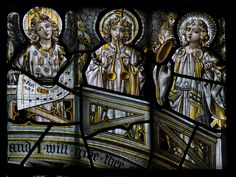 south aisle, west window ; made by Ward and Hughes ; in honor of Arthur Hodgson †1902