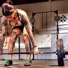 Crossfit. Ummmm tattoos anyone?! LOVE!!