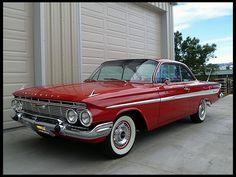 1961 Chevrolet Impala hardtop coupe