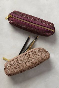 Lasercut Pencil Pouch | Pinned by topista.com