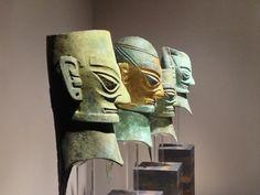 Sanxingdui Bronze Heads