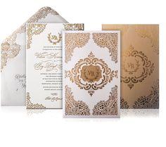 Glamorous Wedding Invitation Ideas for Discerning Brides - MODwedding