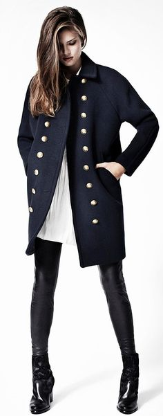 fall coat- All Saints F/W 2012-2013 (at bloomingdales) BRESNEF ..THank You Father Christmas .. Michael xx http://weardownjacket.blogspot.com/  how pretty with this fashion CAOT! 2014 CANADA GOOSE JACKET discount for you! $169.99