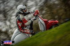 Vespa PX 210 malossi, Circuit Carole (France), 2016, photo Esprit Racing