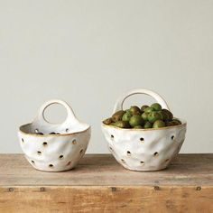 Stoneware Berry Bowl Colanders — The Grey Antler Hand Built Pottery, Slab Pottery, Pottery Wheel, Pottery Bowls, Ceramic Pottery, Ceramic Tableware, Ceramic Clay, Ceramic Bowls, Stoneware