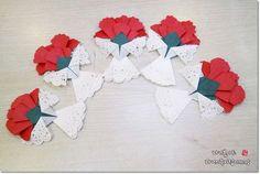 (쉬운카네이션접기) 카네이션을 접어서 미니코사지를 만들어보아요 : 네이버 블로그 Step Card, Diy And Crafts, Crafts For Kids, Origami 3d, Paper Doilies, Lessons For Kids, Handmade Flowers, Handicraft, Thankful