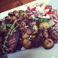 Grilled_Chicken_WIth_Fire_Roasted_Mushrooms_Potatoes_And_Bacon