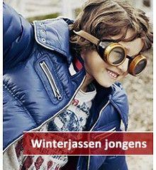 Leuke winterjassen voor jongens in de leeftijd van 2 t/m 16 jaar.