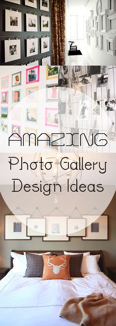 Amazing Photo Gallery Design Ideas