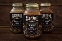 Sugarfoot Packaging | Packing, Branding, Identity