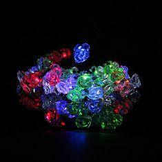 #Banggood Solar Power 30LED Petunia Flower String Light Christmas Party (90904) #SuperDeals