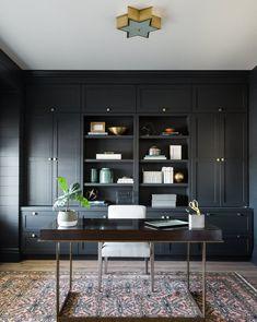 Otto Desk – Home Office Design Vintage Office Interior Design, Office Interiors, Home Interior, Office Designs, Small Office Design, Top Interior Designers, Scandinavian Interior, Office Built Ins, Study Office