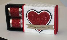 Stampin Up Matchbox Die Valentine photo