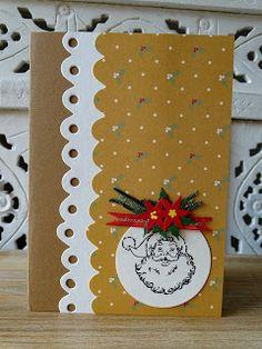 Weihnachten 2016 - veronicard Weihnachten 2016 - veronicard #Christmas #handmade #cardmaking #papercraft #Christmascard #Santa