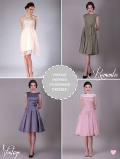 Bridesmaid Dresses from 'For Her and For Him'. . . bottom left = love!