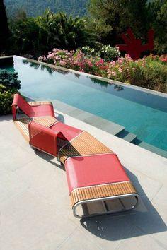 Modular Lounge Chair Design/ Modern Outdoor Furniture